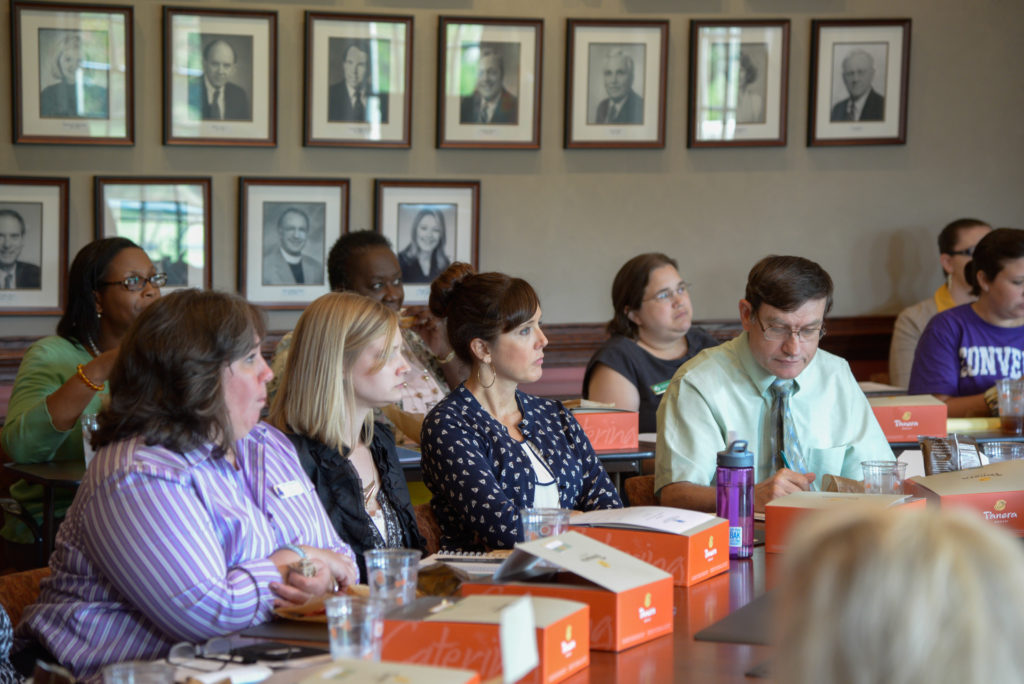 The Spartanburg County Foundation Hosts Nonprofit Connect Session
