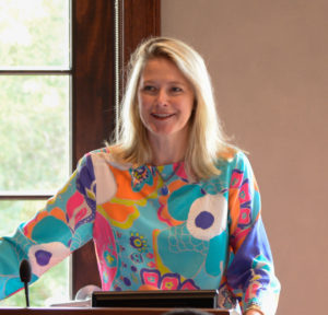 Jennifer Evins, President & CEO of the Chapman Cultural Center