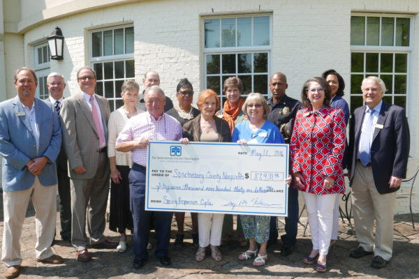 The Spartanburg County Foundation Awards More Than $87,000 to Eight Nonprofit Organizations