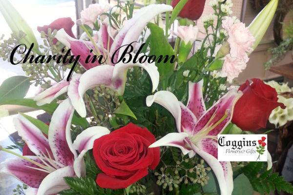 Coggins Flowers Charity in Bloom