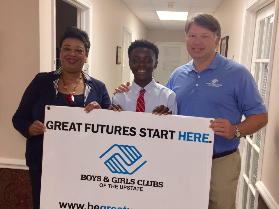 The Spartanburg County Foundation Ball4Good Presents Gift to Boys and Girls Club