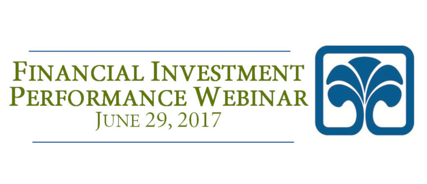 The Spartanburg County Foundation Financial Investment Performance Webinar