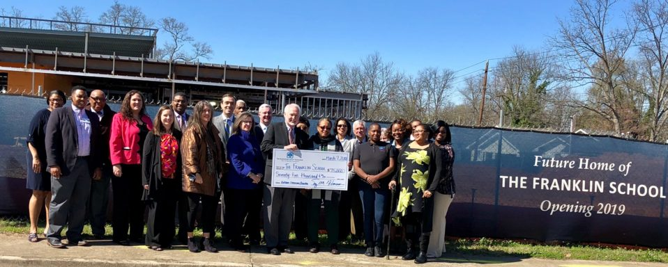 The Spartanburg County Foundation 2018 Grant Recipient, The Franklin School