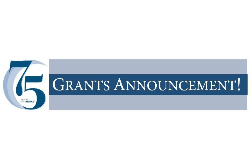 Grants Announcement word art