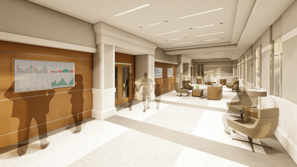 Center for Philanthropy, Gallery Rendering 1