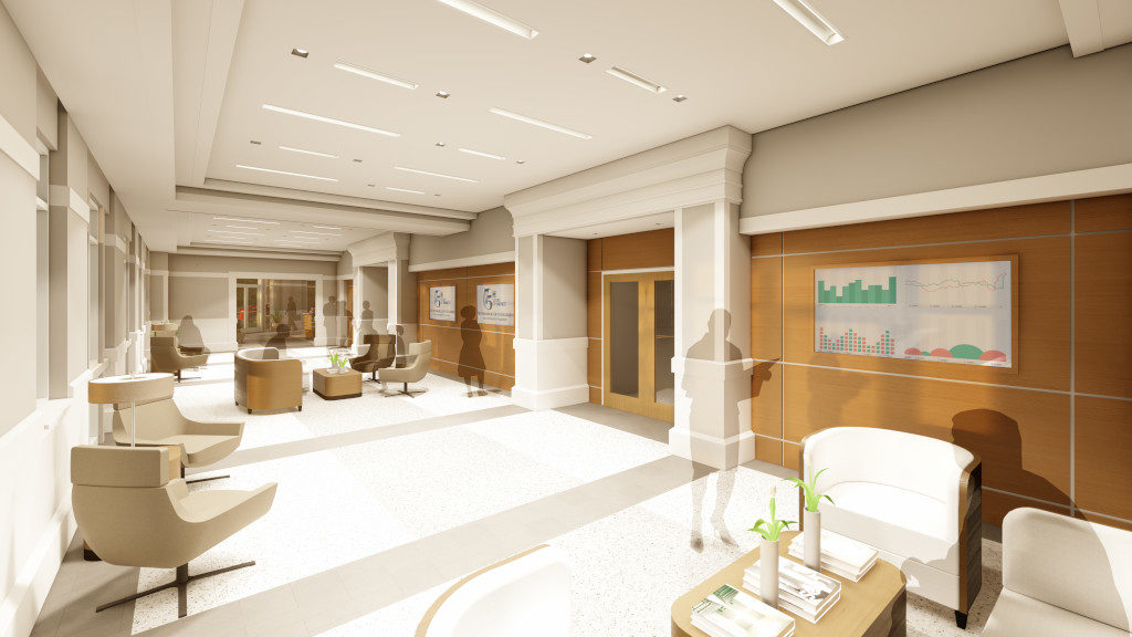 Center for Philanthropy, Gallery Rendering 2