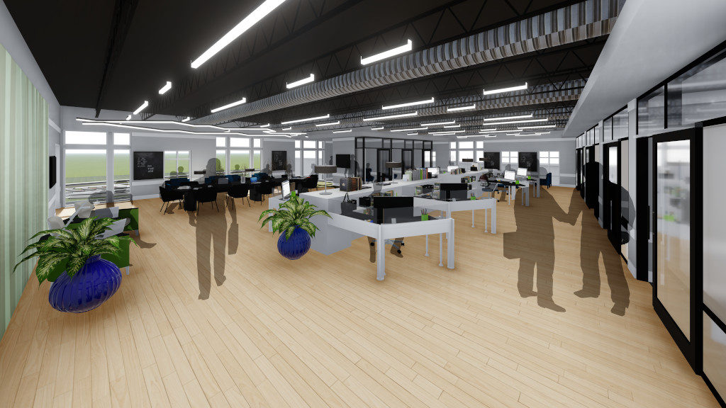 Center for Philanthropy, Incubator Space Rendering 1