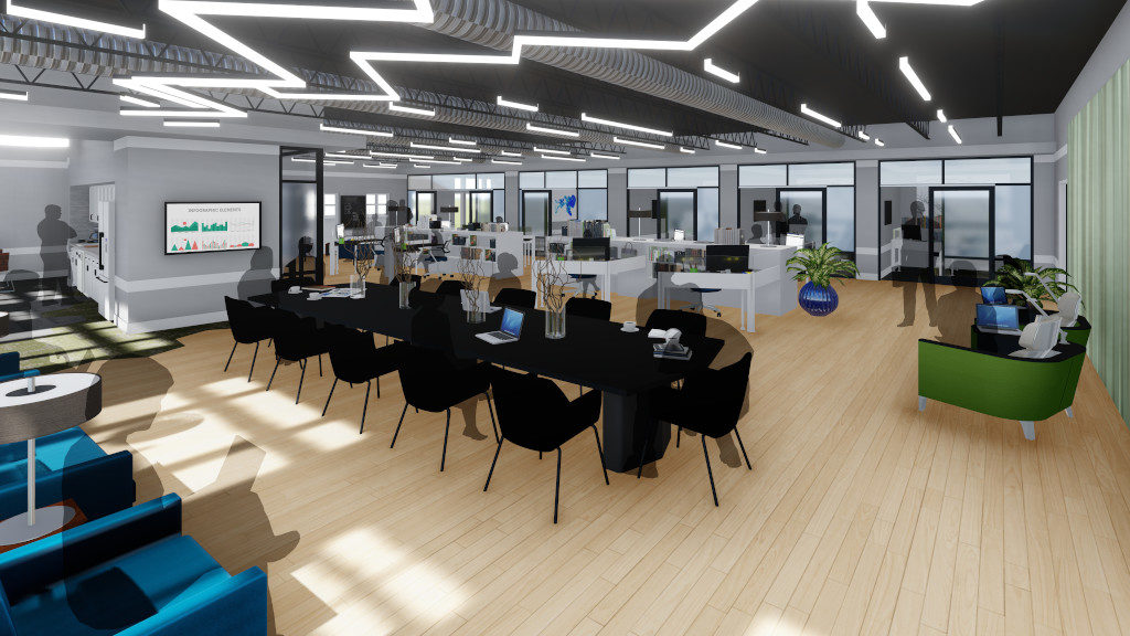 Center for Philanthropy, Incubator Space Rendering 2