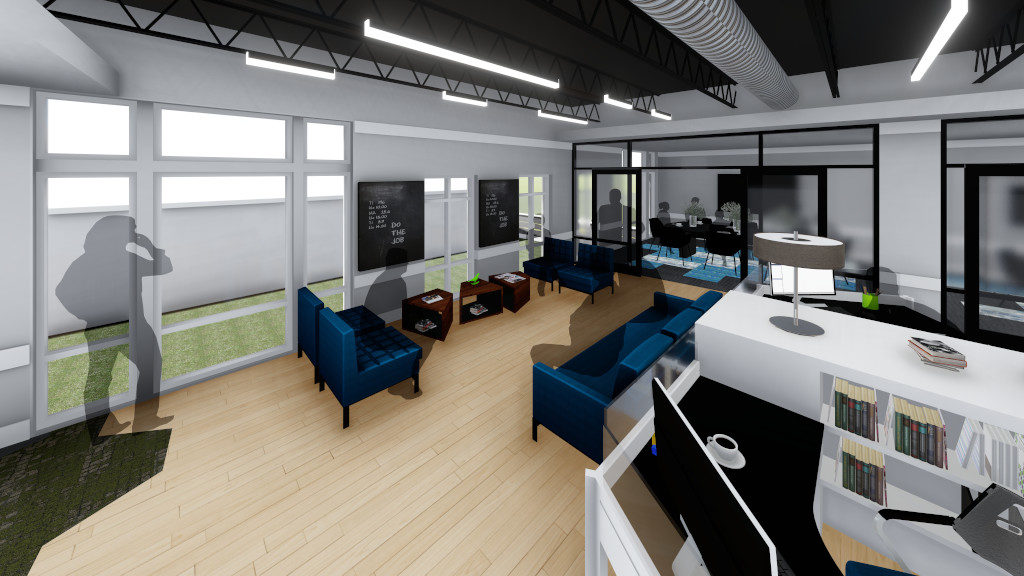 Center for Philanthropy, Incubator Space Rendering 3