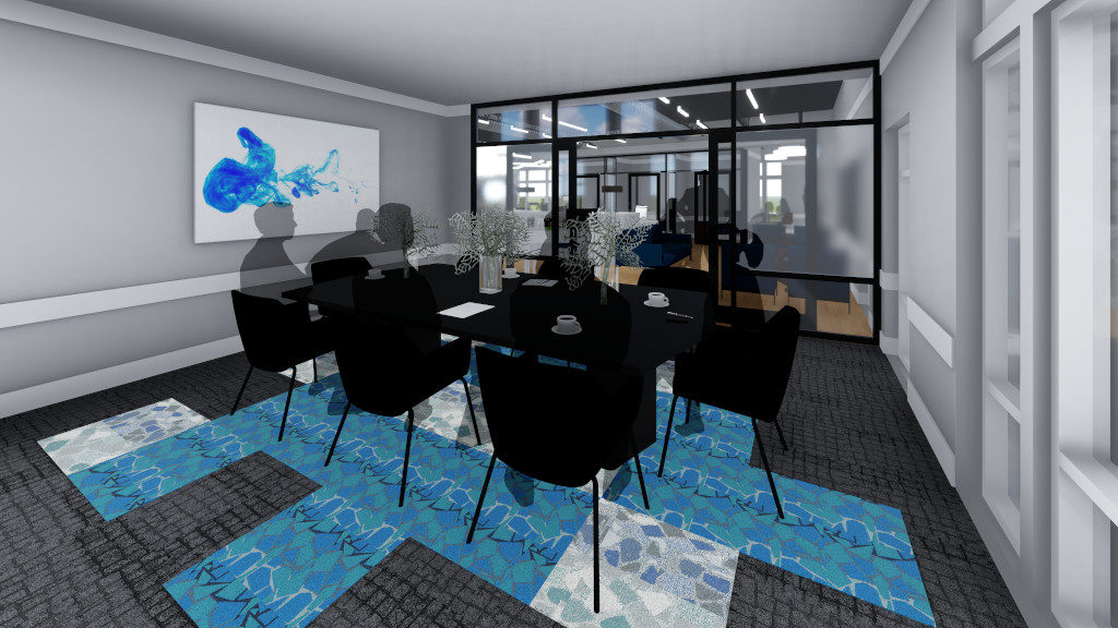 Center for Philanthropy, Incubator Space Rendering 4