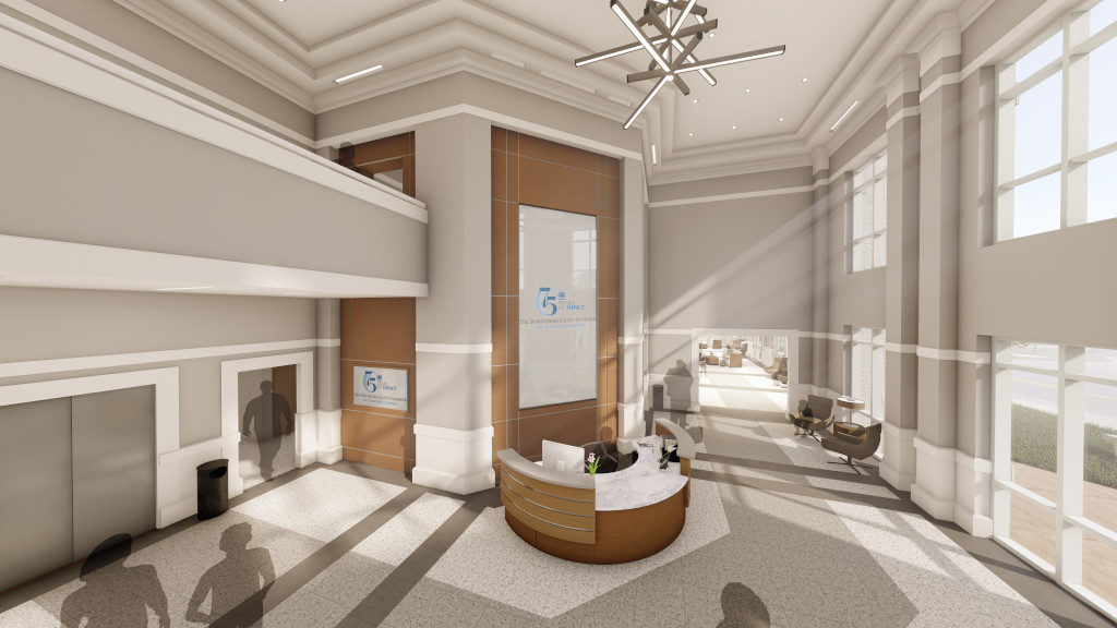 Center for Philanthropy, Lobby Rendering 2