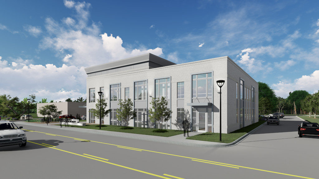 Center for Philanthropy, Exterior Rendering 2